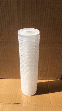Pleated polypropylene cartridge filter core