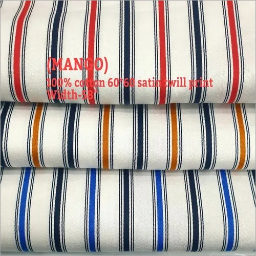 Mango 100% cotton 60*60 satin print