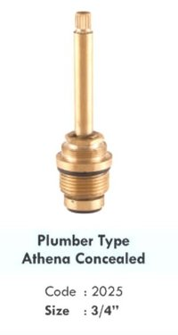 PLUMBER TYPE ATHENA CONCEALED