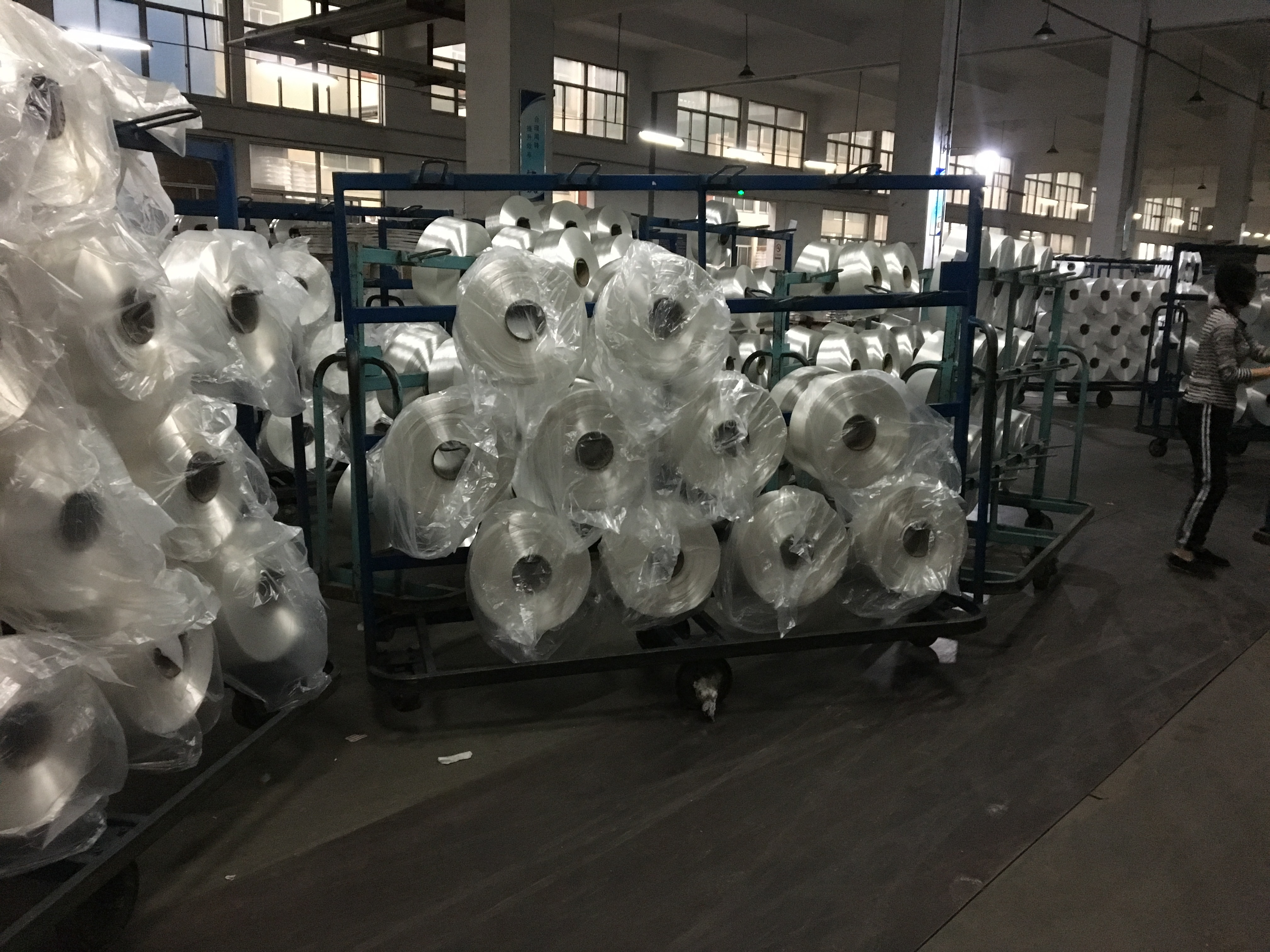 HOT SELLING 250D HIGH TENACITY POLYESTER FILAMENT YARN IN INDIA