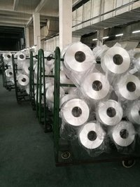 RAW WHITE 210D HIGH TENACITY POLYESTER FILAMENT YARN IN CARTONS