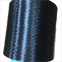 HIGH TENACITY POLYEST DOPE DYED BLACK YARN