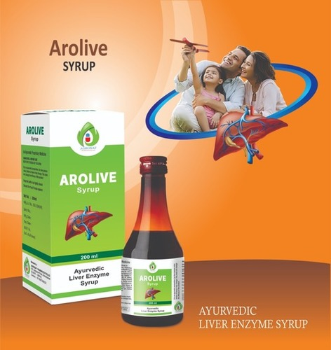 Ayurvedic liver enzyme syrup