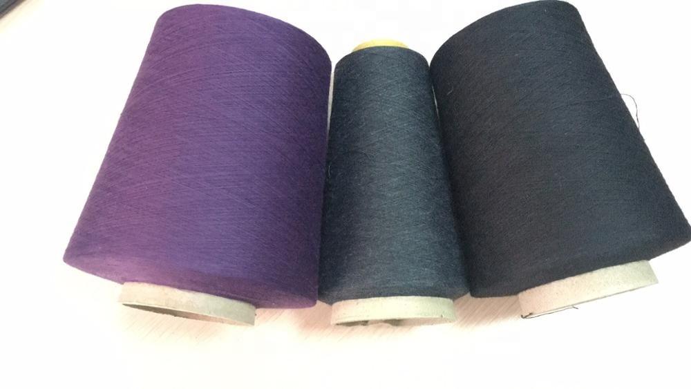 32S1 100%polyester ring spun yarn