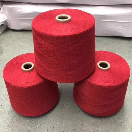 knitting yarn dope dyed 100% Polyester Spun Yarn