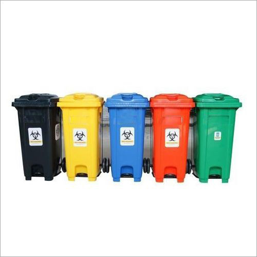 Foot Pedal Operated Garbage Bin