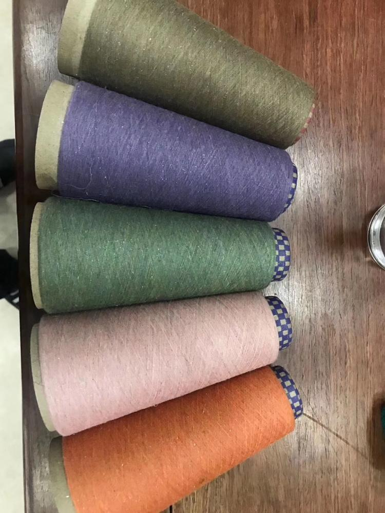 polyester spun yarn color high quality Chinese lowest price