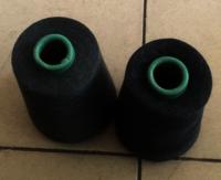 stock yarn socks yarn dope dyed 100% Polyester Spun Yarn for socks