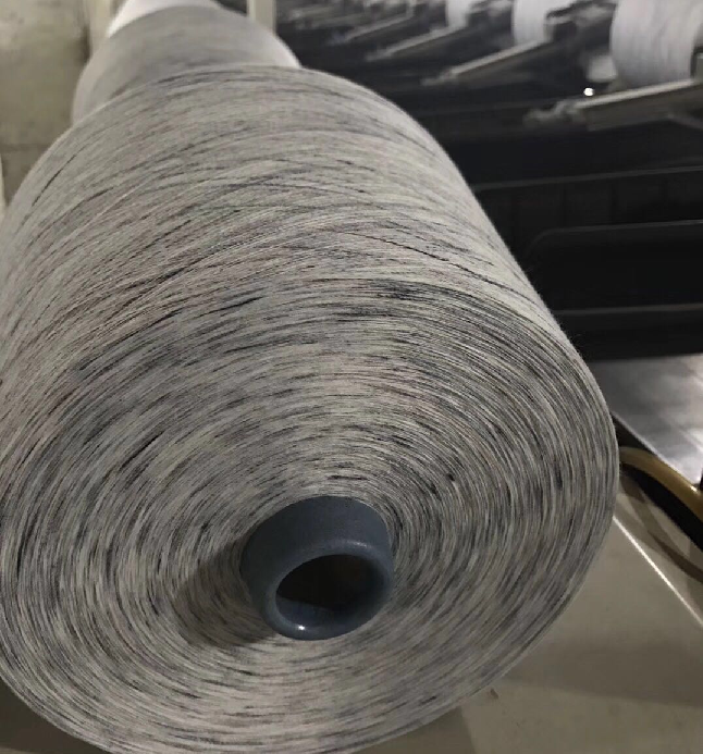 Chinese lowest price polyester cotton melange yarn hot sale