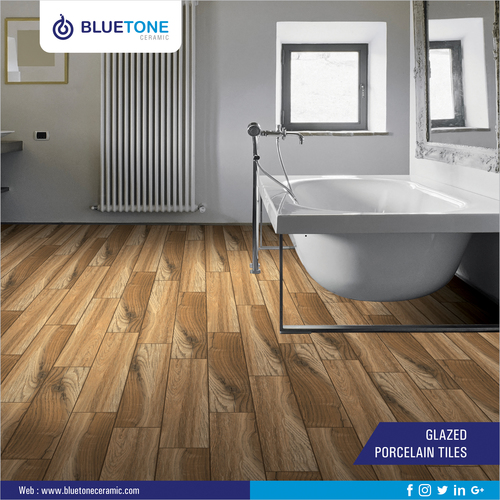Wood Strip Porcelain Tiles 200x1200 MM