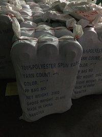 socks yarn dope dyed 100% Polyester Spun Yarn for socks