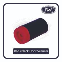 Red And Black Door Silencer