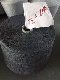 socks yarn melange grey 100% Polyester Spun Yarn for socks