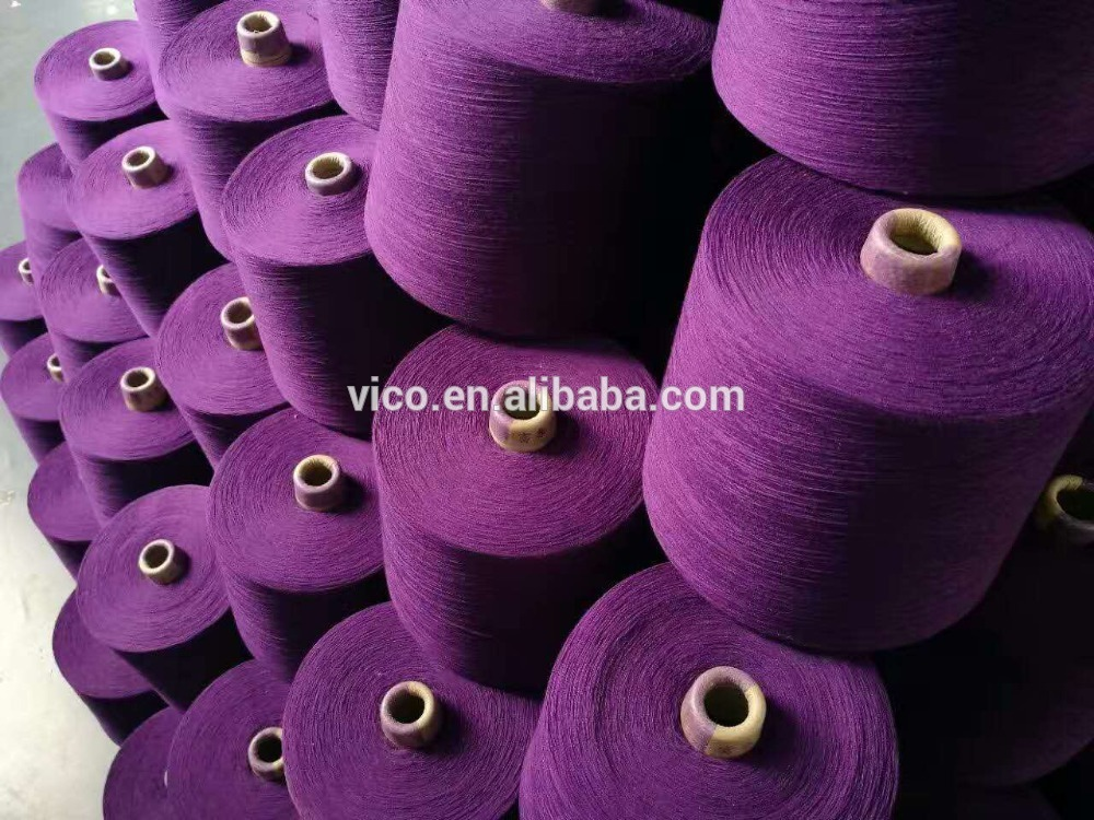 socks yarn dope dyed 100% Polyester Spun Yarn for socks