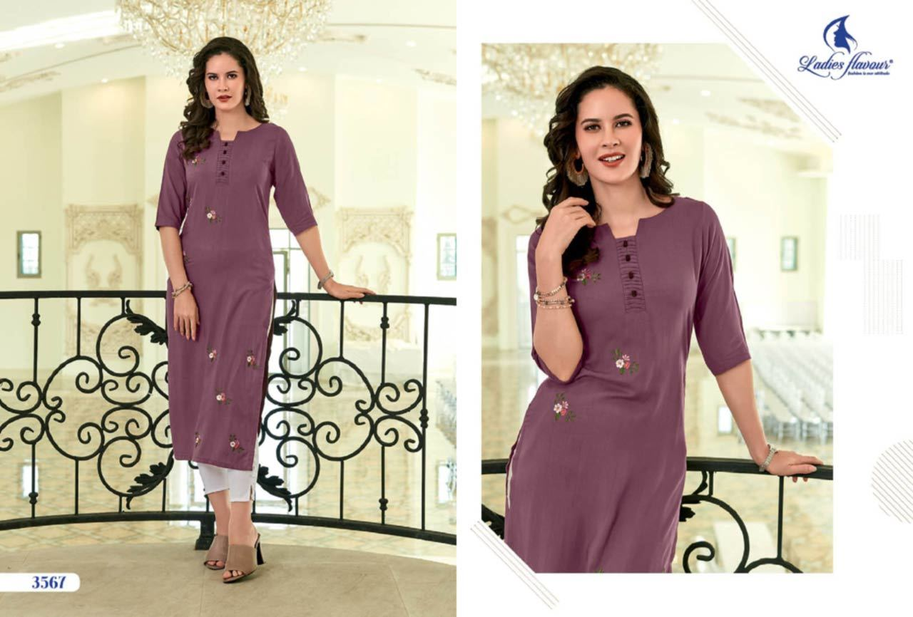 Rayon With Embroidery Work