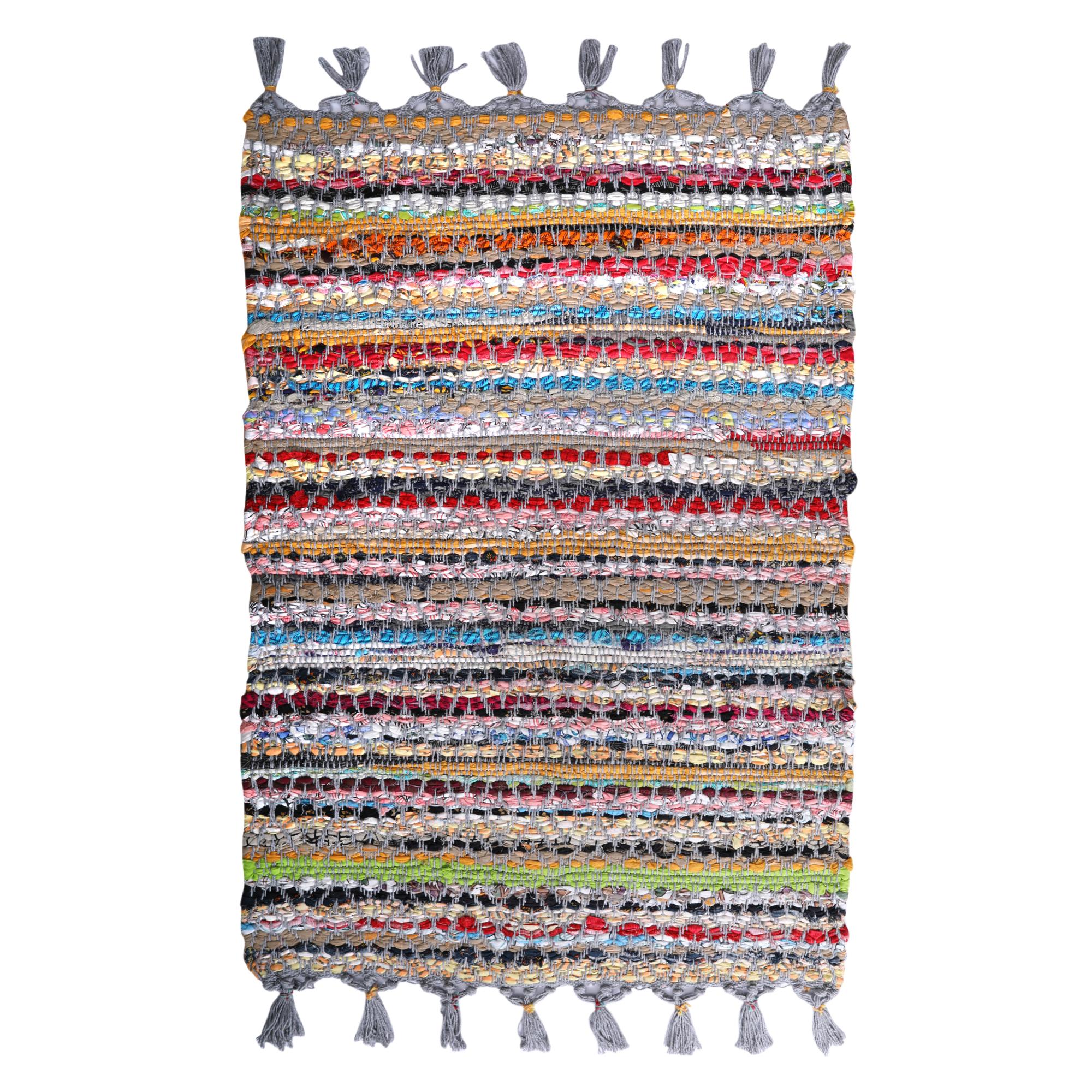 Multi Chindi diamond weave