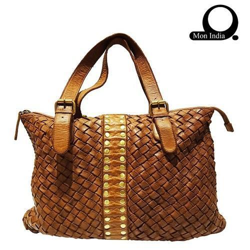 Deep Dye Leather Women's Handbag