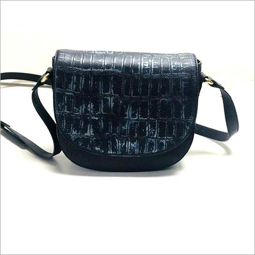 Leather Side Handbag