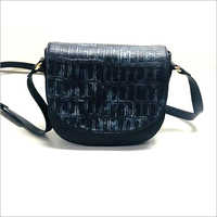 Leather Side Handbag