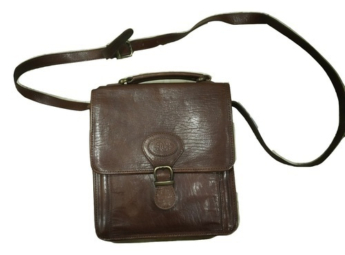 Genuine Leather Satchel-Cross Body Bag
