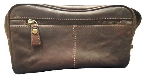 Genuine Leather Wash Bag