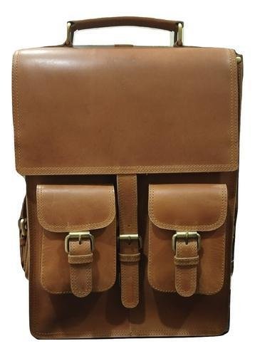 Genuine Leather Backpack-Travel Bag