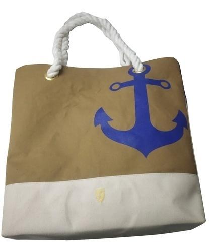 Waxed Canvas Shopper Bag