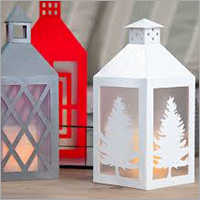 Desktop Lantern Candle Stand