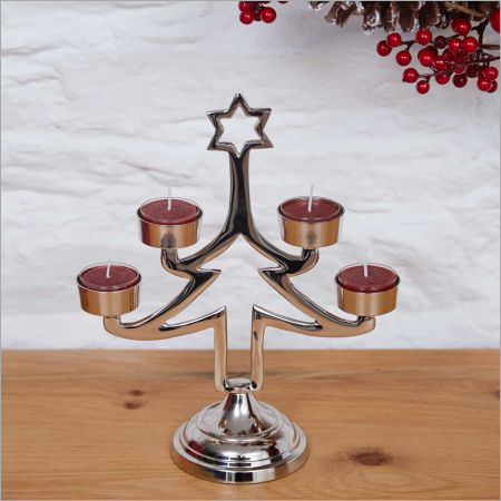 Fancy Christmas Candle Stand