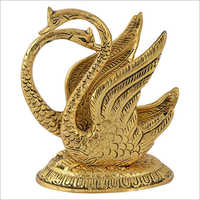 Metal Swan Napkin Holder Showpiece