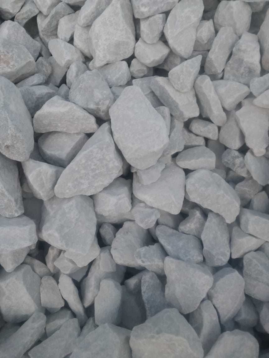 Indian top supply of white burnt marble Aggregate and chips