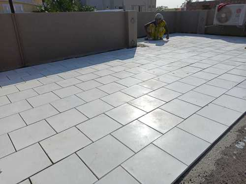 Terrace Tiles Silverplus glossy