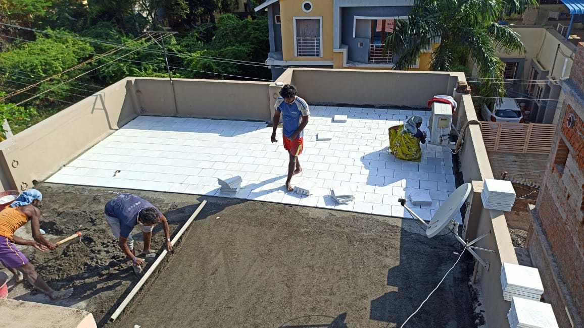 Terrace Tiles Silverplus glossy