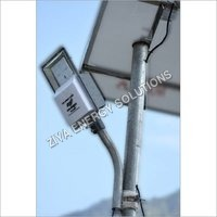 18w Solar Street Light Systems, Panel & Pole With Complete Structure & Hardware