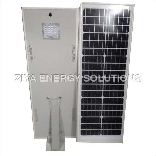 20 Watt Integrated Solar LED Street Light - Aluminium Body