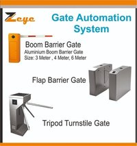 Boom Barrier Automation System