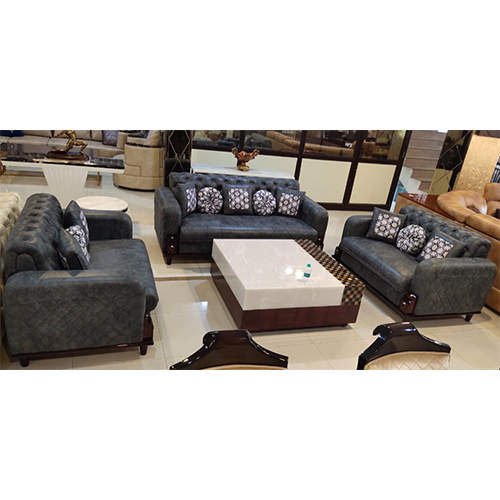 Living Room Fabric Sofa Set