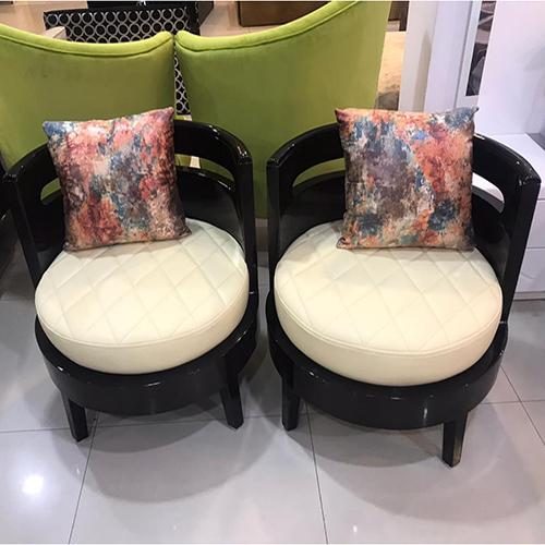 Fancy High Back Chair