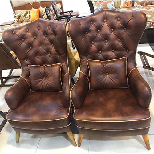 Designer High Back Club Chair