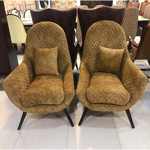 Fabric High Back Club Chair