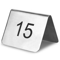 Signage Tent Number