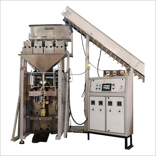 Industrial Four Head Weigher Pouch Packing Machine