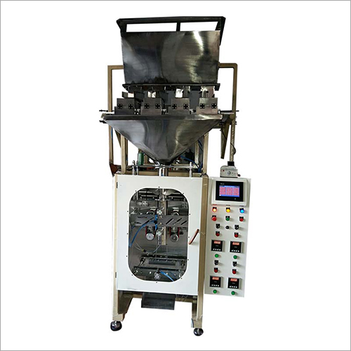 Collar Type Four Head Pouch Packing Machine