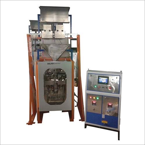Snack Packaging Two Head Weigher Pouch Machine