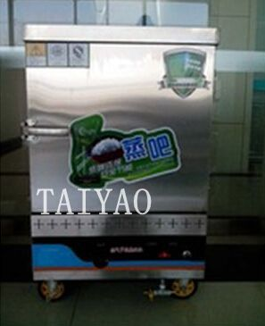 Single Door Commercial gas food Steamer made in China