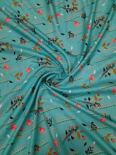 Poly Cotton Digital Print Fabric