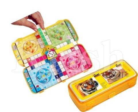Ludo Game Kids Pencil Box