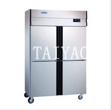 4 door stainless steel refrigerator