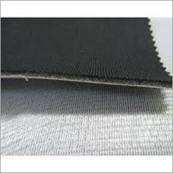 Black Laminated Fabric