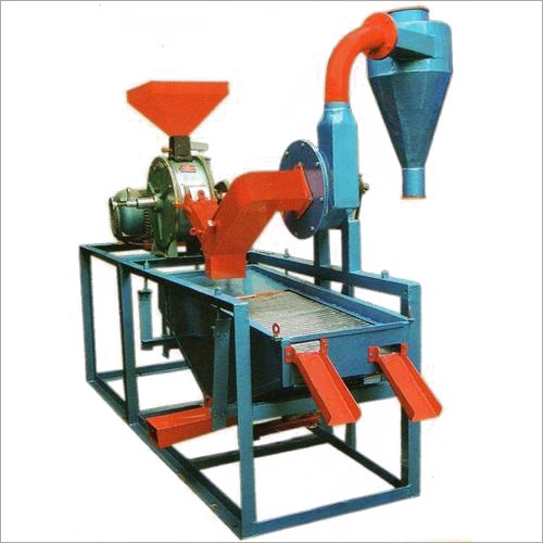 Flour Type Mini Dal Mill Machine